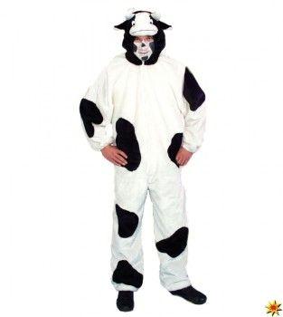 Tierkostüm Kuh, Overall gefleckt kaufen
