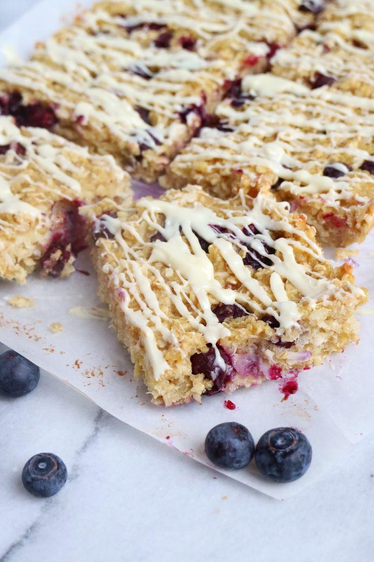 quinoa breakfast bars breakfast recipes adventure blueberry nutrition ...