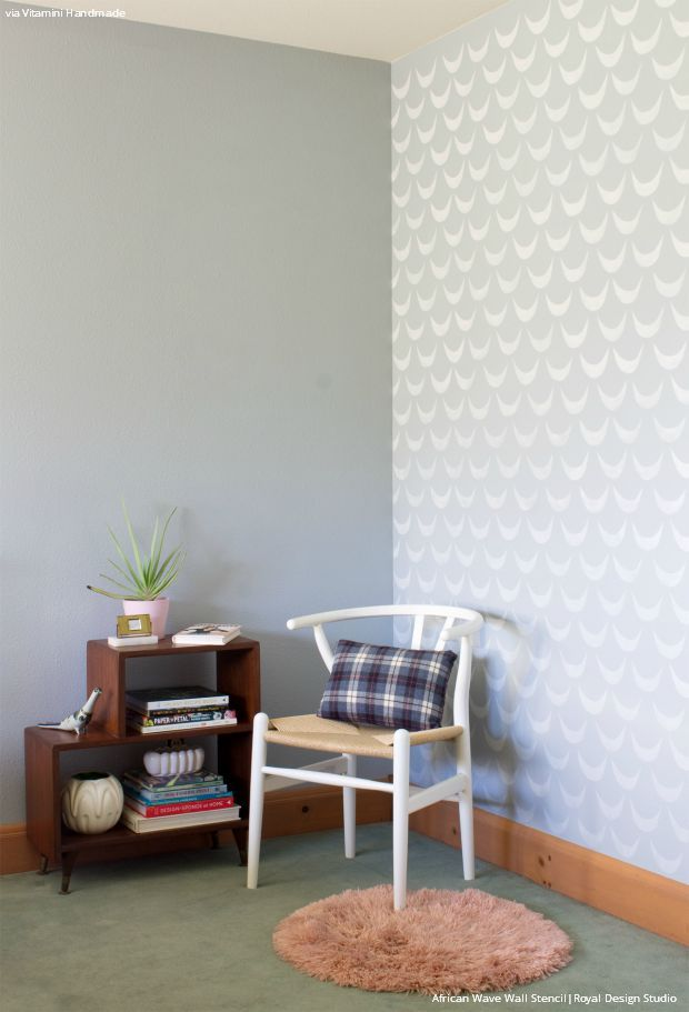 407 Best Images About Stenciled & Painted Walls On Pinterest