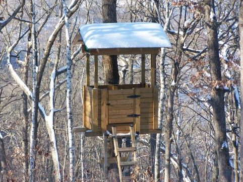 169 best images about hunting on pinterest bow rack for Best deer stands
