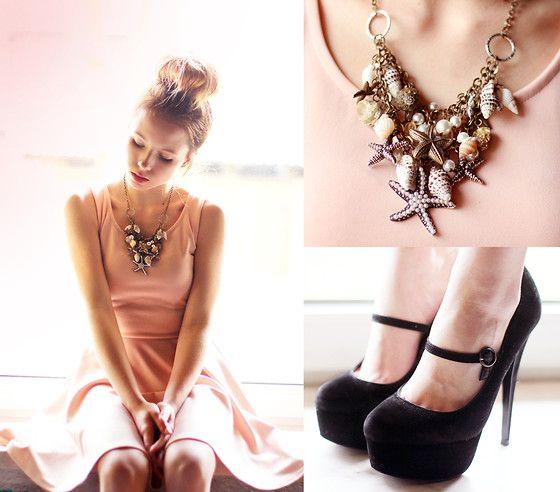 Iclothing Dress, Chicwish Necklace