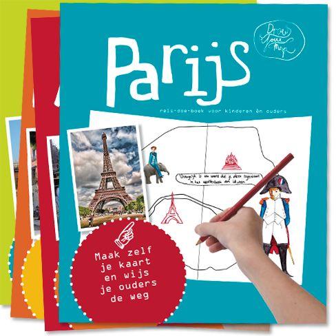 Stedentrip Parijs met kinderen leuk en leerzaam met DrawYourMap