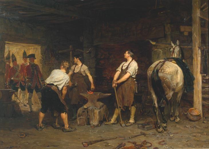 John Seymour Lucas 'After Culloden, Rebel Hunting', 1884 - Tate Gallery London