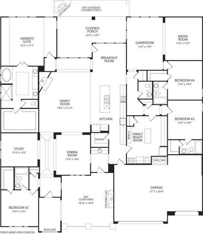 plan out the interior layout of the lauren iv with the interactive floor plans application by drees homes - Floor Plan Application