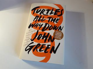Lucy Turns Pages: Turtles All the Way Down Review  Book review of Turtles All the Way Down, a ya contemporary featuring mystery and OCD, by John Green, author of The Fault in Our Stars, Looking for Alaska, Paper Towns etc.