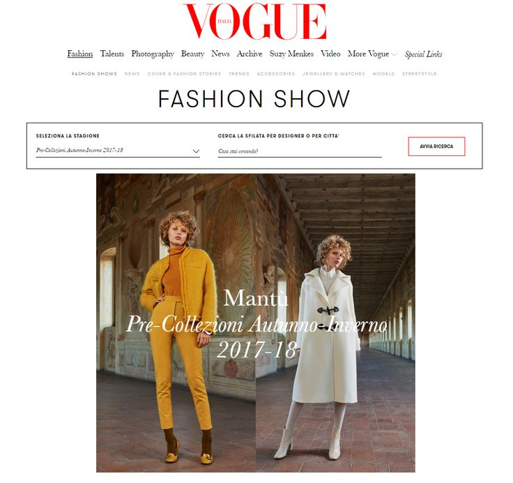 Mantù Prefall 2017/18 on the runway homepage of @vogueitalia! Special Thanks to @castor_mantova @sofiaodero @claudia.pasanisi and @arina_lush #mantu #castor #castorknowhow #madeinitaly #vogue #fashion #style #stylish #photooftheday #cute #beautiful #beauty #clothes #model #outfit #glam #cool #instagood #girls #styles