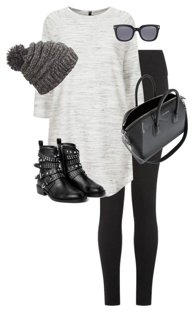 """Untitled #9884"" by alexsrogers ❤ liked on Polyvore featuring Topshop, Dakine, MANGO, Tom Ford and Givenchy"