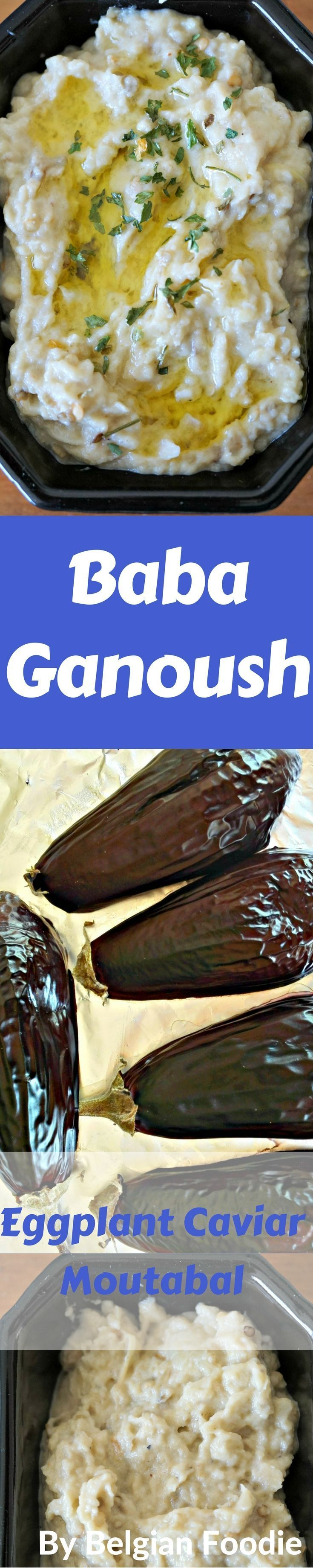 This Baba Ganoush recipe is Easy, Quick and VEGAN!!!  It's super YUMMY too!