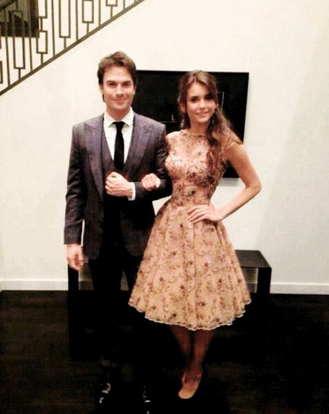 New/old pic of Ian and Nina | Ian and nina, Celebrity ...