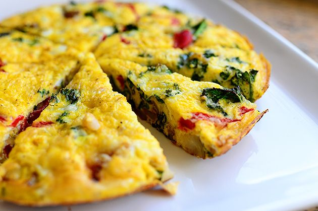 Frittata recipe - I done came home from church yesterday and done made myself a dang frittata! Marlboro Man had taken the girls to the big city...
