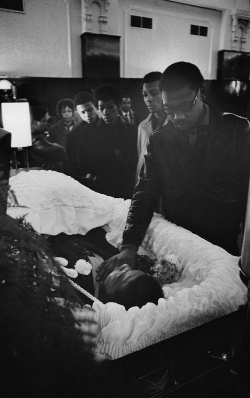 Fred Hampton Funeral   1969 Black Panther Fred Hampton's Funeral
