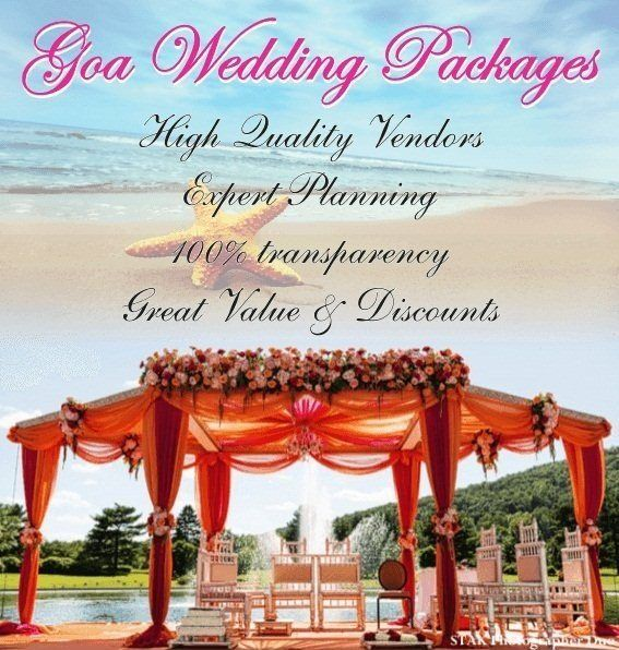Goa Wedding Packages Are Most Popular And Highest Selling PackagesExclusively On My Planning