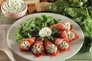 Rulouri cu sunca si mascarpone - Culinar.ro