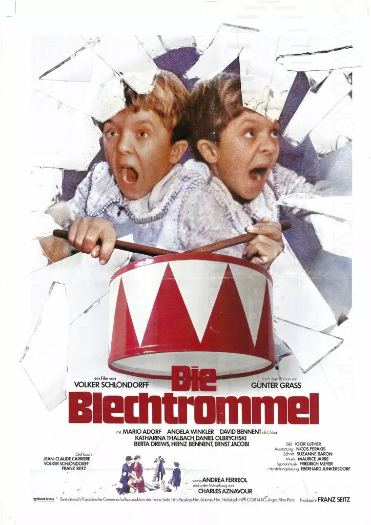 """El tambor de hojalata"" (Volker Schlöndorff, 1979) con David Bennett, Mario Adorf y Angela Winkler."