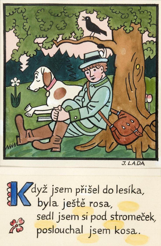 Kalamajka – Když jsem přišel do lesíka, 1913