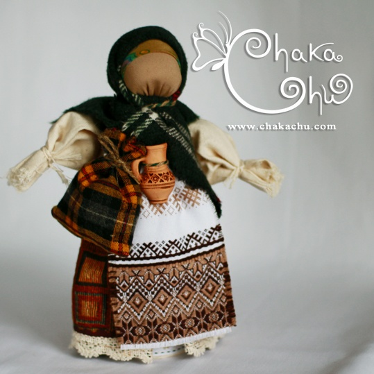 Ukrainian Motanka doll - by Cha-ka-Chu