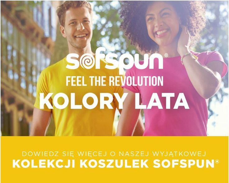 Koszulki Sofspun Fruit of the Loom