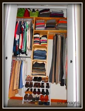 Organizing and sharing small closets organized pinterest small closets and closet - Organizing small closet space photos ...