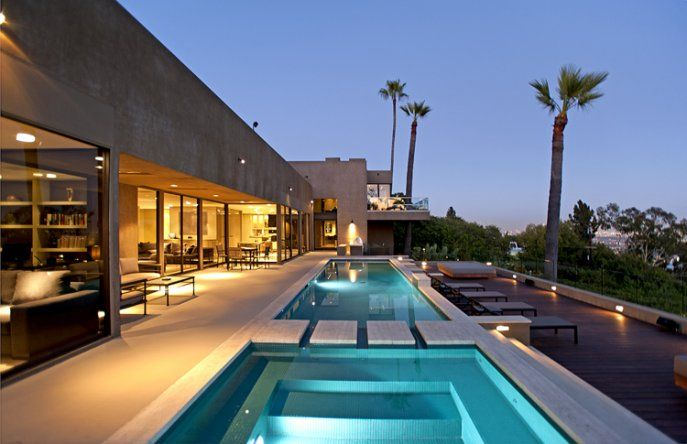 Cordell drive hollywood hills dream home pinterest for Decoration villa de luxe