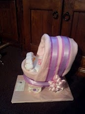 A Pink Nappy Pram... So cute :)