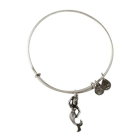 Alex and Ani Mermaid Bangle Russian Silver.... My favorite of all even though her tail broke!!
