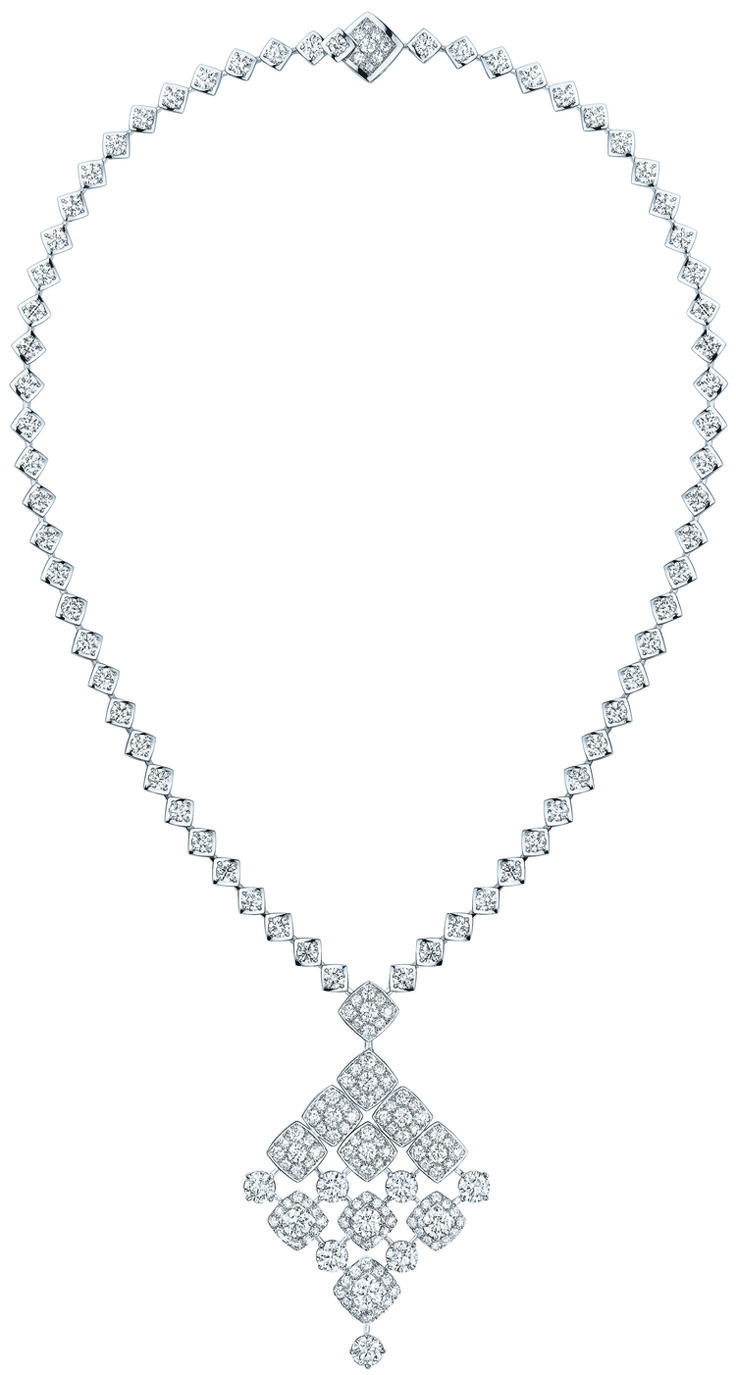 Chanel diamond lariat diamant halsschmuck pinterest the two