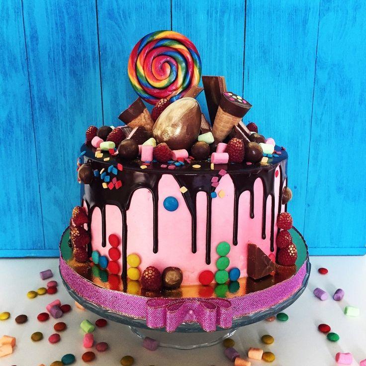 торта мамба украшение конфетами
