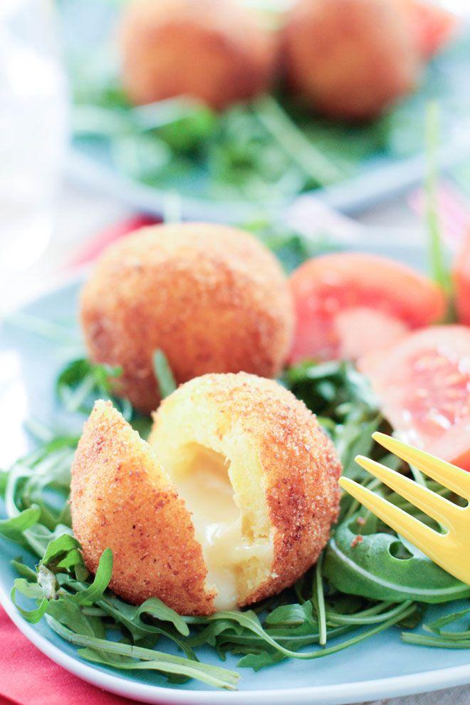 Cromesquis de pommes de terre au Munster fermier – Concours Carrefour Origine…