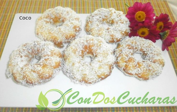 ConDosCucharas.com Rosquillas de ron al horno - ConDosCucharas.com