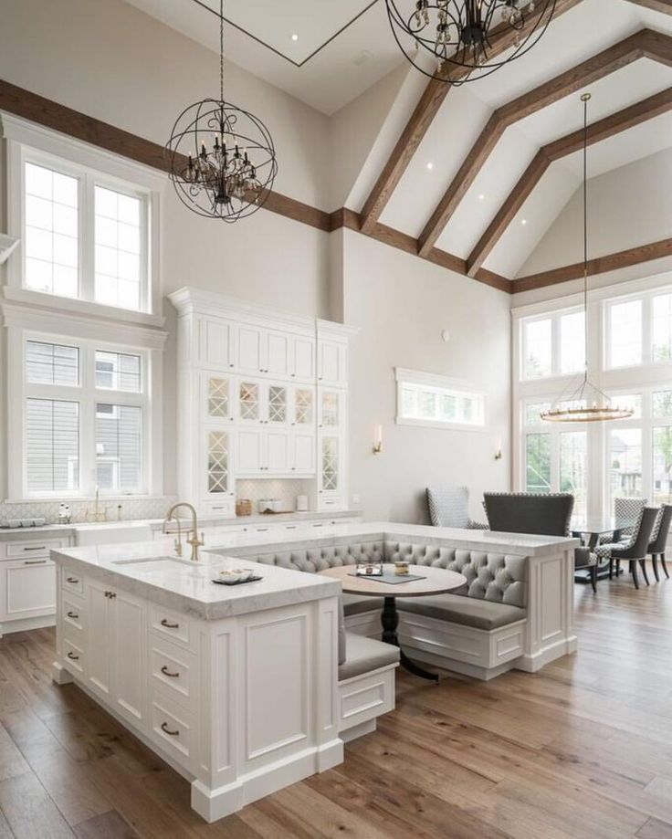 Spectacular Kitchen Family Room Renovation In Leesburg: 166 Best Images About Extravagant Kitchens On Pinterest