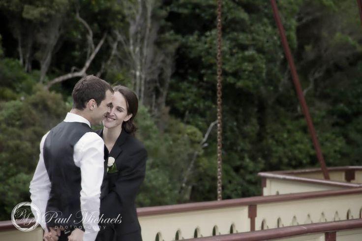 Craig and Emma's wedding at Karori wildlife sanctury. PaulMichaels wedding photographers in Wellington. http://www.paulmichaels.co.nz/