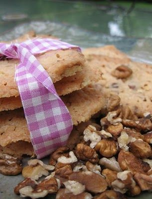 Toasted Hickory Nut Butter Cookies | fall | Pinterest