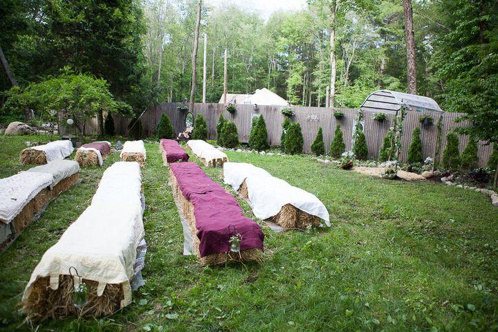 17 Backyard DIY Wedding in Massachusetts