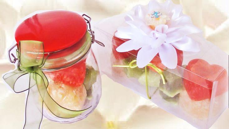 149 mejores im genes sobre jabones perfumes cremas - Como hacer puff artesanales ...