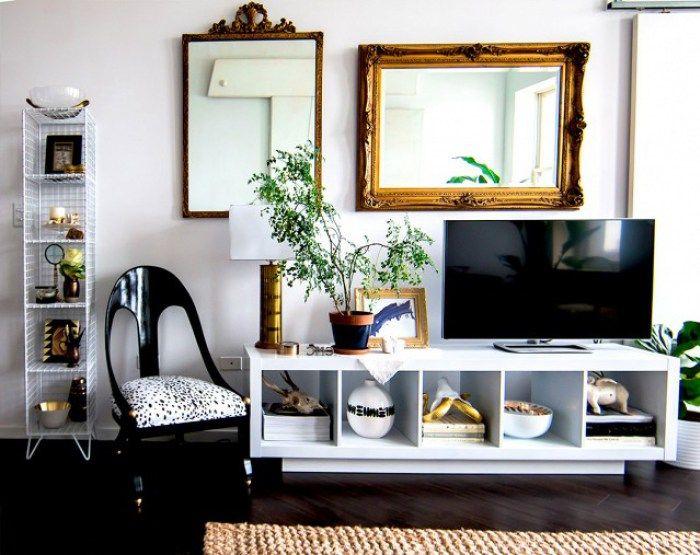 Living Area IKEA Kallax Expedit Shelf   Alittleleopard.com
