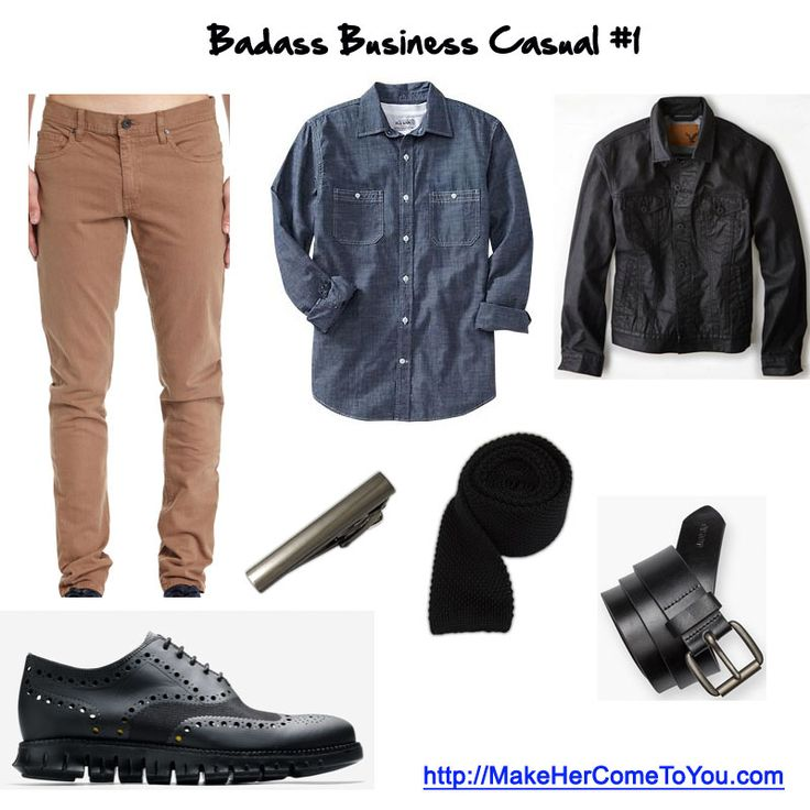 Badass business casual #1 Pants @cottonon Shoes @colehaan Shirt @oldnavy Jacket @americaneagle Tie and bar @thetiebar Belt @Levi's   Free PDF - http://makehercometoyou.com  #mensstyle #mensfashion #mensstreetstyle #dapper #streetstyle #wiwt #mensstyleguide #instafashion #handsomeguysecrets #teamhandsomeguy #datingadvice #firstdate #whathewore #whattowear #mystyle #colehaan #ColeHaanFriends