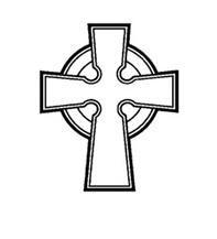 """celticcross1ケルティック・クロス(ケルト十字)     ケルティック クロスは、十字に円形が融合された、ケルトデザインの中でも最も良く知られた形です。  このクロスはキリスト教的な十字の意味に加え、十字の横線は地上世界への導線、縦線は霊性的世界  への導線、円形は """"永遠"""" の神の愛や、尽きる事ない力を示していると言われます。9世紀か  それ以前から、アイルランド、スコットランド及びその他のケルト系の島に、この形の石碑が  多く建てられ、信仰のシンボルとなってきました。ケルトは元々、自然・精霊信仰に基づいた、  ドルイド教と呼ばれるアニミズムの様な独自の世界観を持っていました。しかし、5世紀に  キリスト教が伝えられると、今度はそれと見事に融合しました。その結果、ケルトの世界観は  元々持っていた無限のレイヤーに彩られる空間の神秘に加え、信仰心による因果応報の克服といった  時間の神秘が加わり、更に広がりを見せます。そして時間と共に、次元というアイデアすら  感じさせるダイナミックでパワフルなものへと昇華して行き、この形が生まれたと考えられています。…"""
