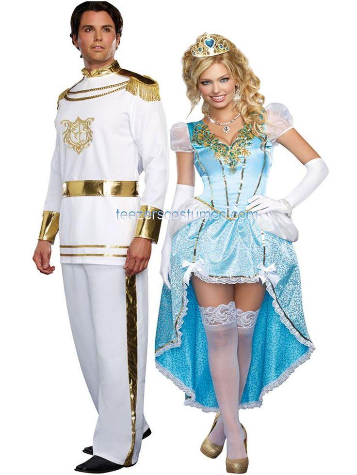 couples costumes halloween costumes couples teezerscostumescom halloween pin10 for 10 - Prince Charming Halloween Costumes