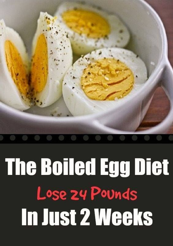 Boiled Egg Diet Plan You Can Lose 11 kg In Two Weeks! This combination will speed up your metabolism and thus will burn the fat. Well, the best part is that you will not feel hunger.