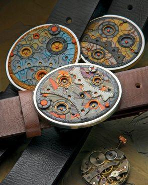 Belt buckle by Arden Bardol