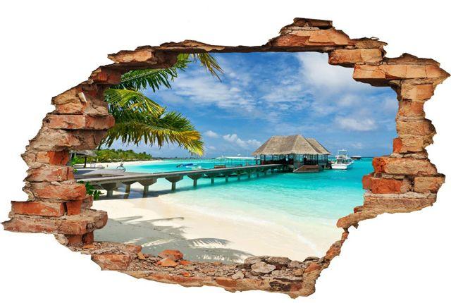 Este revoluția culorilor, a stickerelor de perete cu peisaje de vis, 3d sau harta lumii!