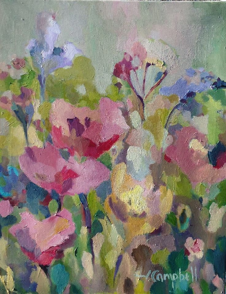 Flowers Song by Izabela Campbell on ArtClick.ie Floral Still Life Art