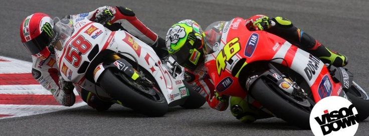 Get the new Marco Simoncelli & Valentino Rossi Facebook Cover for your Facebook profile