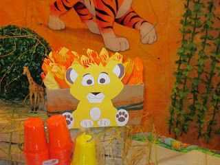 PinkDesigns: The Lion King Party: Il compleanno di Nicolò