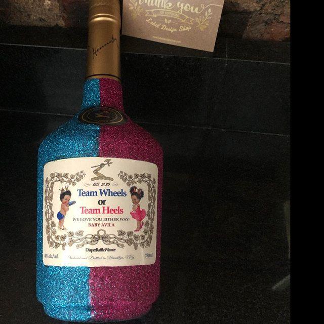 Birthday Custom Label Cognac Style Custom Label Personalized Etsy In 2020 Custom Labels Birthday Labels Personalized Labels