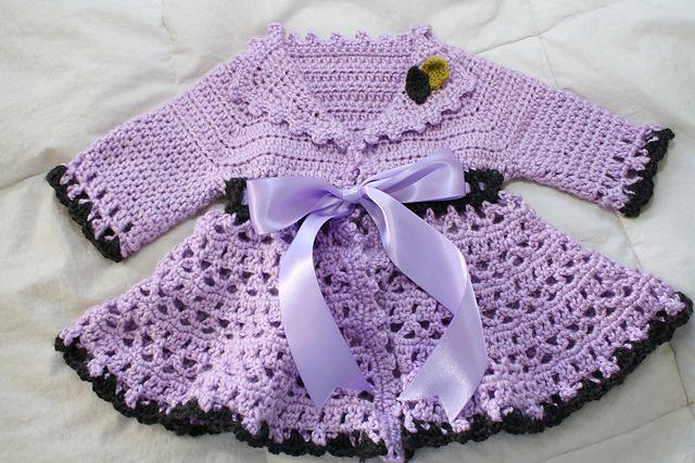 Sweet Lil Crochet Victorian Jacket: free pattern