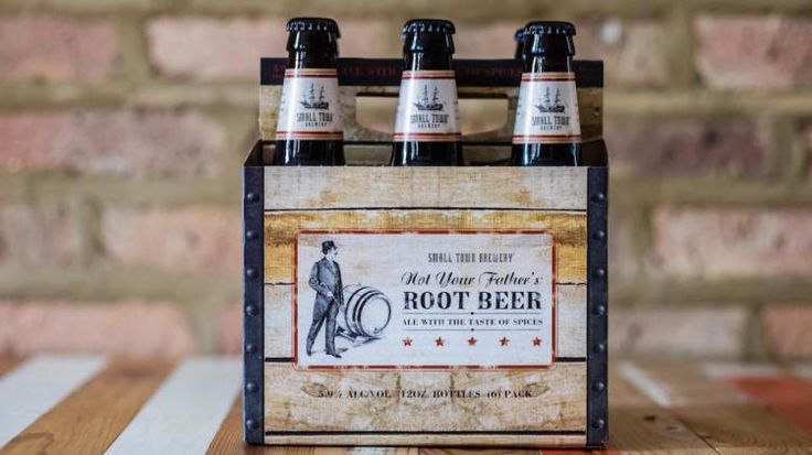 Root beer plus booze? That's a trend we can get behind
