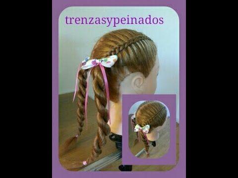Peinados Para niñas Trenzas y Peinados Braids for Girls - YouTube