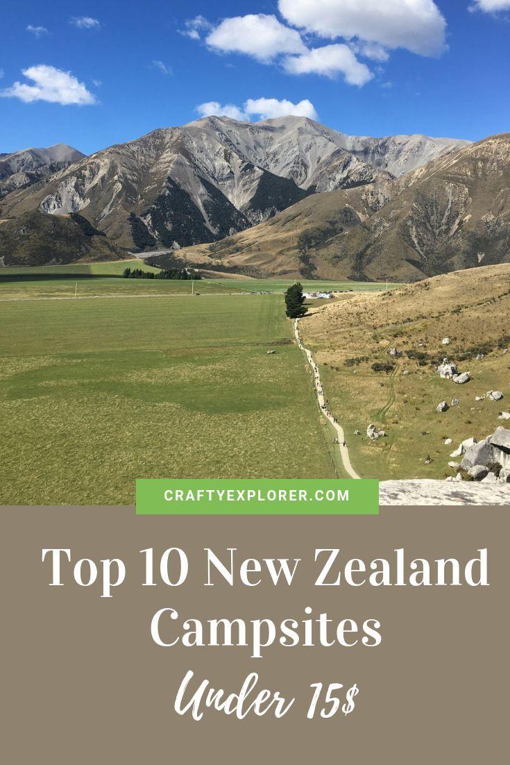 Top 10 New Zealand Campsites Under 15 Travel Insurance