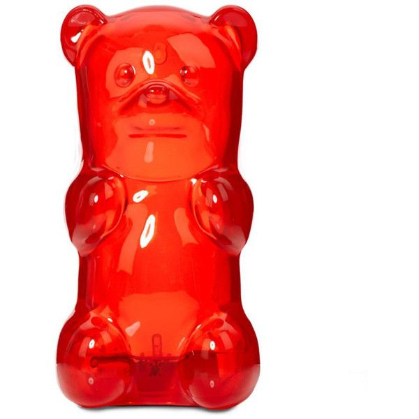 Gummy Bear Nightlight Red 38 Liked On Polyvore Featuring Home Lighting Wall Lights Wall Mounted Lights Wall Gummy Bear Light Gummy Bears Night Light